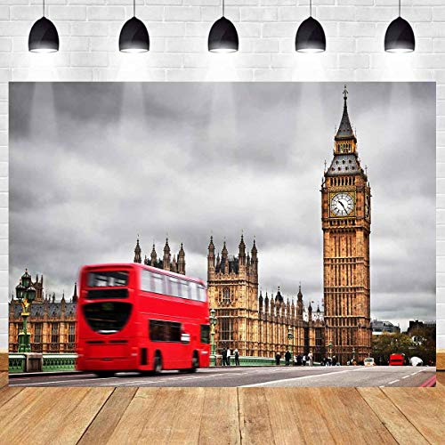 Halloween Party London Under 18 (MEETS 7x5ft London Landmark Backdrop Big Ben Backdrop Photo Booth Studio Props Theme Party YouTube Backdrop)