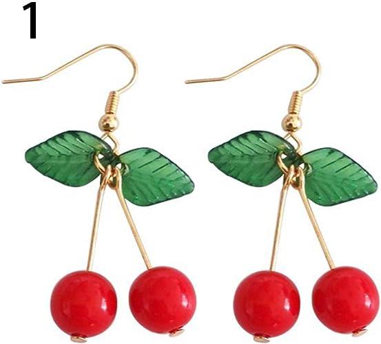 clip magnético Pendientes de Forma de Estrella Rojo o Verde Stud
