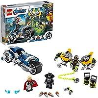 Lego Marvel Avengers Speeder Bike Attack Buildable Superhero Toy Playset