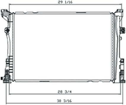 TYC 2190 Mercedes-Benz Replacement Radiator