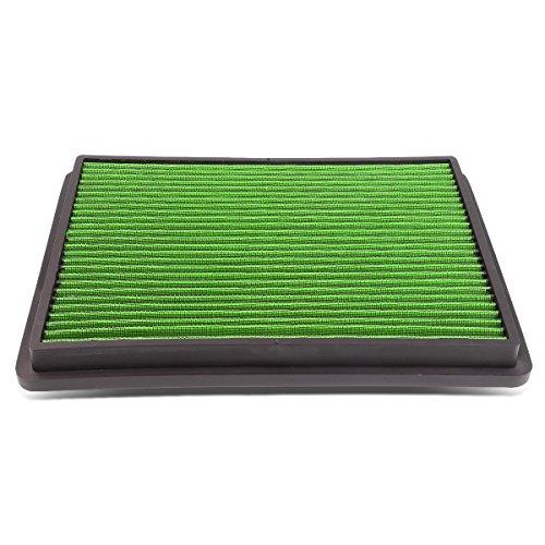 DNA Motoring AFPN-018-GN Drop In Panel Air Filter[99-17 Chevy Suburban Silverado]