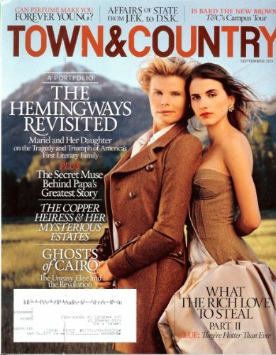 - Town & Country Magazine (September, 2011)