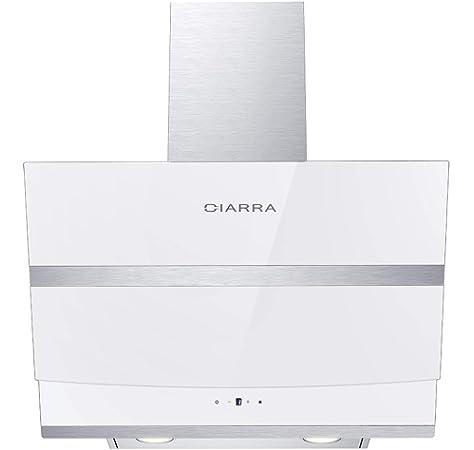 CIARRA CBCB6201 Campana de pared 60cm 380 m³/h 65W - 3 velocidades ...