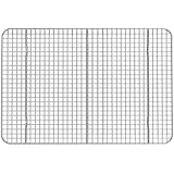 "Stainless Steel Cooling Rack Heavy Duty, Commercial, Metal Wire Grid Rack (10"" X 15"")"