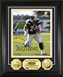 NFL San Diego Chargers Ryan Matthews 24KT Gold Coin Photo Mint