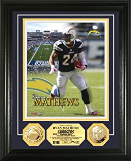 NFL San Diego Chargers Ryan Matthews 24KT Gold Coin Photo Mint (B005GUI7ZY) | Amazon Products