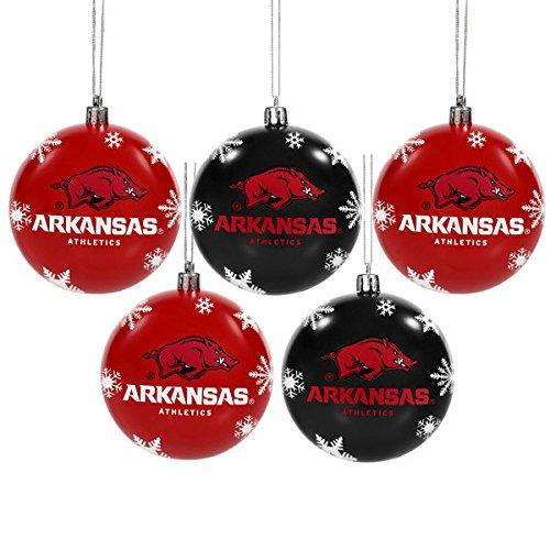 Arkansas 20165Pack Bruchsichere Ball Ornament Set 4YUQK3