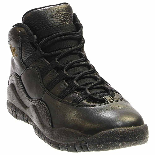 Nike Air Jordan 10 X Retro NYC Premium basketball shoes Sneaker different colors, EU Shoe Size:EUR 38.5, Color:black
