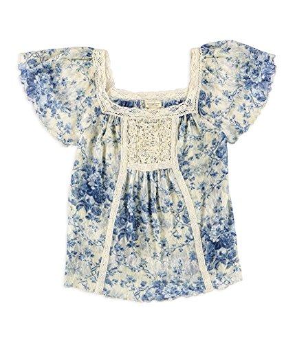 (RALPH LAUREN Denim Supply Floral-Print Boho Shirt Jacqueline Floral XL)