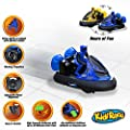 Rc Bumper Cars | Remote Control Cars - Set of 2 with Rechargeable Batteries and Wall Charger | 2.4Ghz Multiplayer Technology | Easy and Fun To Play by Kidirace