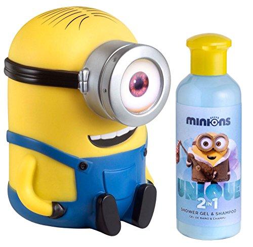 Air-Val Minions/Ich - Einfach unverbesserlich/Geschenk-Set: Stuart Spardose mit 2-in-1 Duschgel und Shampoo für Kinder, 1er Pack (1 x 200 ml)