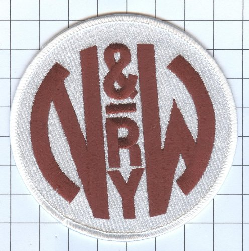 Railroad 100% Embroidered Patch Collectible - N&W Norfolk and Western