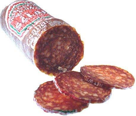 Salami Hungarian - Bende Csabai Hungarian Style Salami with Paprika - Short - approx 0.8 lb