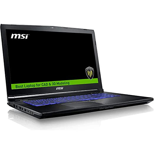 Workstation - Msi We63 I7-8750h 2.20ghz 16gb 500gb Ssd Quadro P2000 Windows 10 15,6