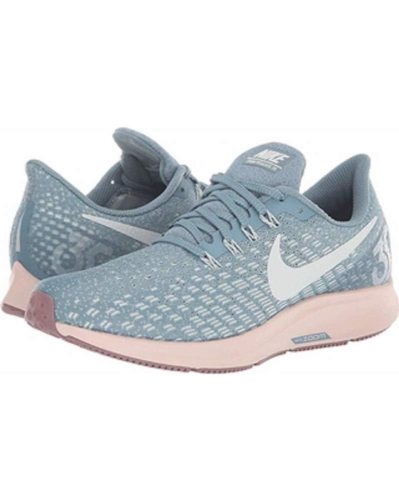 e9022bd98679 Galleon - Nike Women s Air Zoom Pegasus 35 Running Shoe Blue Celestial  Teal Light Silver (US 6.5)