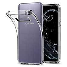 Spigen Funda Galaxy S8, Carcasa [Liquid Crystal] Slim Protection y Premium Clarity para Galaxy S8 (2017) - Trasparente