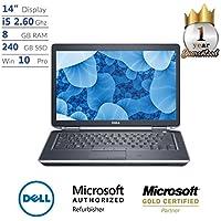 "Dell Latitude E6430, Core i5, 8GB, 320GB HDD, 14"" Display, Win 10 Pro Laptop (Certified Refurbished)"