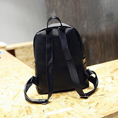 backpack Bags Female bag blue Cosmetic Student bag Z backpack simple amp;YF handbag plus black Ladies backpack red Shoulder 8gwqR4WO