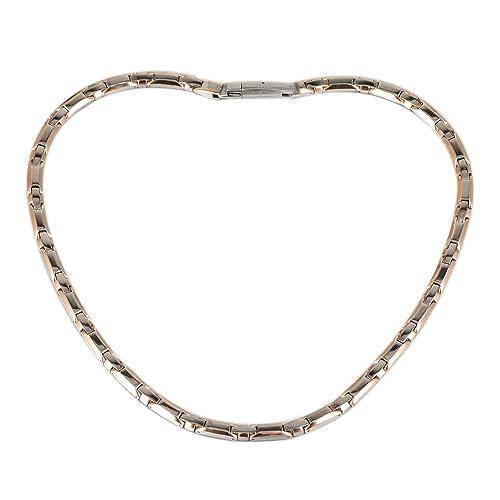 2dcf013dddf6 YINOX - Collar magnético de hematita de Titanio para Mujer