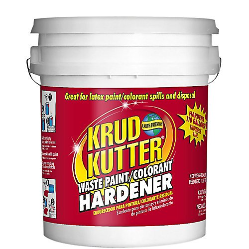 Solid Waste Disposal (Krud Kutter PH110 Odorless Waste Paint/Colorant Hardener, 5-Gallon, Clear)