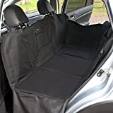 FrontPet Backseat Pet Bridge Hammock- Fully protects and covers entire back seat and door panels for Trucks, SUVs, and Full Sized Sedans Dog Car Seat Extender Platform Cover Barrier Divider Restraint