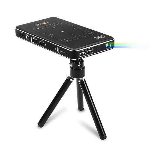 DLP Mini proyector Smart, 4k Android proyector Multimedia, Fuente ...
