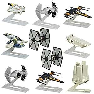 Star Wars Set Of 10 Black Series Titanium Models Spaceships Vehicles Hasbro Toys