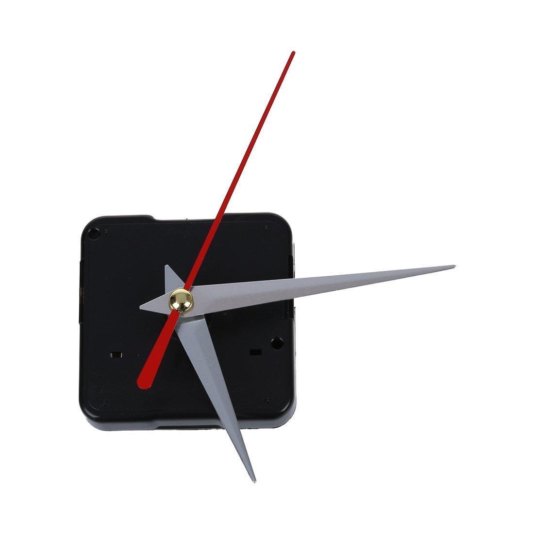 SODIAL(R) Movimento al quarzo del meccanismo dell'orologio 3 Riparazione DIy della rosa delle mani d'argento TRTA11A