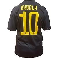 Terza Maglia Nera Juventus Paulo Dybala 10 Replica Autorizzata 2018-2019 Bambino (Taglie-Anni 2 4 6 8 10 12) Adulto (S M L XL)