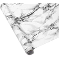 Homeme Marble Contact Paper, 5m x 60cm Self-Adhesive Wallpaper Decorative Removable Sticker with PVC Waterproof Oil…