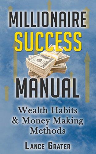 amazon com millionaire success manual wealth habits and money