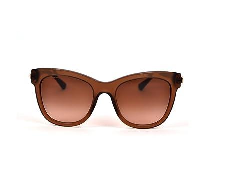 f3ecb2170ae1 Amazon.com  GIORGIO ARMANI Sunglasses AR 8011 504413 Brown Transparent  53MM  Clothing