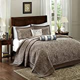 Madison Park Quilt Traditional Jacquard Luxe Design