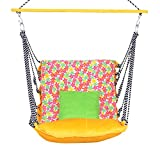 EA Designer Imported Cotton Swing Hammock for Adults - Folding and Washable
