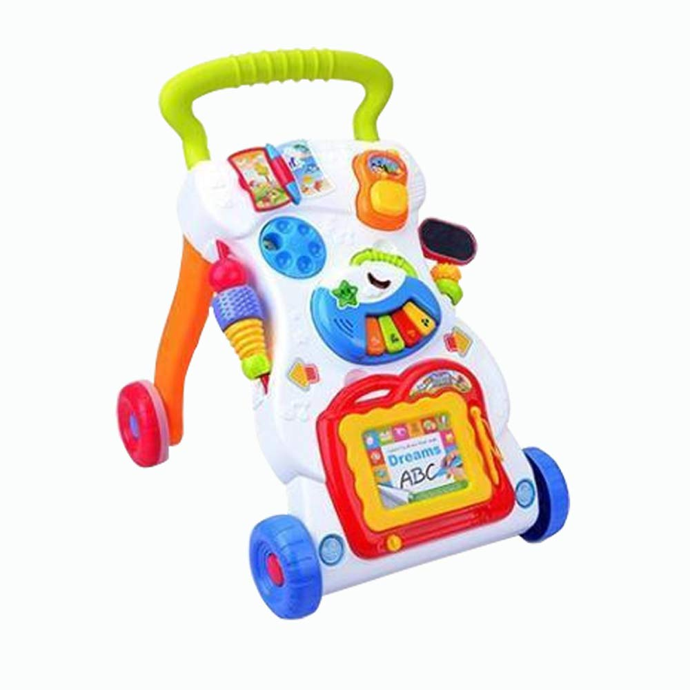 ZXHJM Baby Sit-to-Stand Learning Walker Toy Baby Walkers for