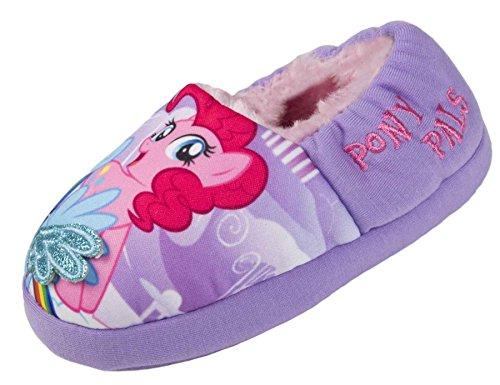 My Little Pony Glitter Wings Girls Slippers UK 10/28 Purple -