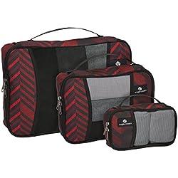 Eagle Creek Pack-it Original Cube Set-3pc St (XS, S, M), Tribal Irregularity RED