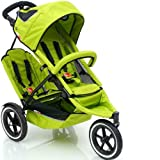 """Phil & Ted's """"2008 Version 2"""" Sport Buggy With Doubles Kit: Green"""