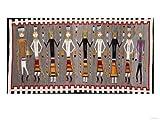 A Navajo Yei Rug Giclee Print Art (16 x 12 in)