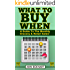 What To Buy When: A Guide To The Monthly Grocery & Retail Sales