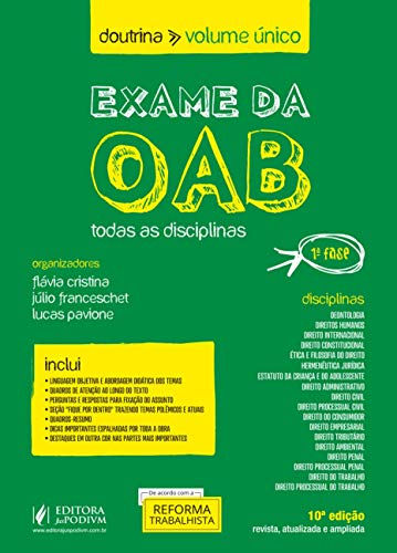 Exame da OAB: Todas as Disciplinas