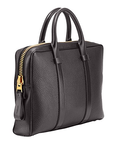Tom Ford Men's Buckley Brown Medium Briefcase