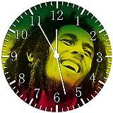 Bob Marley Borderless Frameless Wall Clock Y49 Nice For Decor Or Gifts