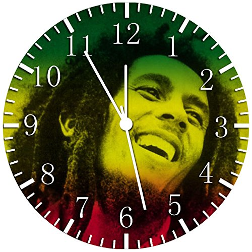 Bob Marley Borderless Frameless Wall Clock Y49 Nice For Decor Or Gifts
