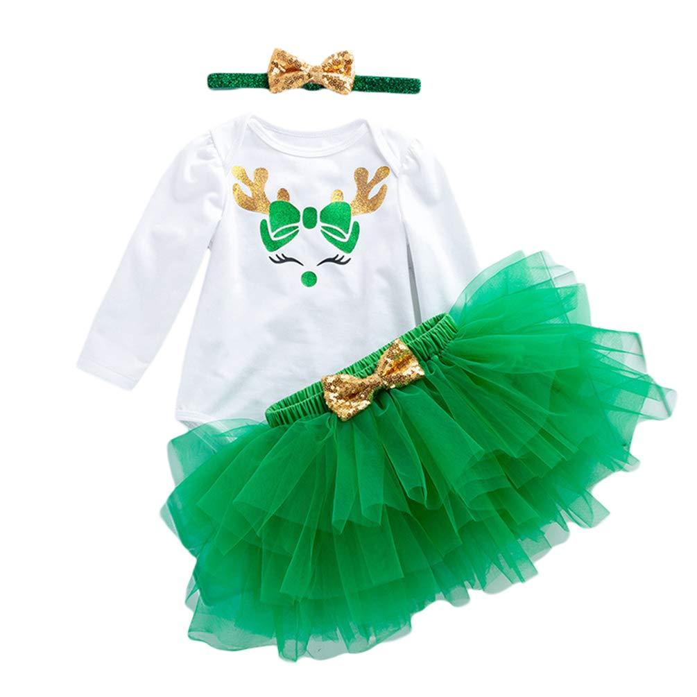 Baby Kinder Mädchen Set 3tlg Neugeborenen Sommer Kleidung Outfit 12-24 Monate