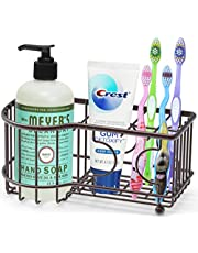 SimpleHouseware Multi-Functional 6 Slots Toothbrush Holder