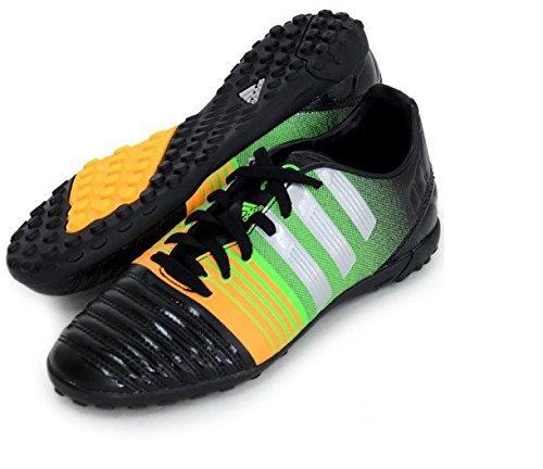 バドミントン咲く予測するアディダス (adidas) サッカースパイク ターフコート用 23.0cm ナイトロチャージ nitrocharge 3.0 TF J M29933 コアブラック×シルバーメット×ソーラーゴールド 国内正規品