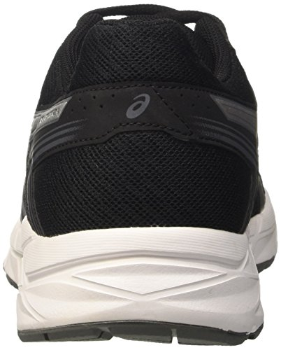 Asics Gel-Contend 4, Zapatillas de Gimnasia para Hombre Negro (Black/silver/carbon)