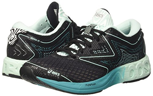Multicolor Shoes Noosa Asics Women's Black Ff UK Running 8 Green 5 Viridian Bay SXwxAOSq