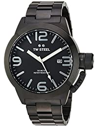 TW Steel Men's CB212 Analog Display Quartz Black Watch